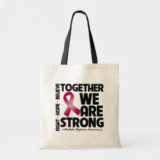 Multiple Myeloma Together We Are Strong Budget Tote Bag