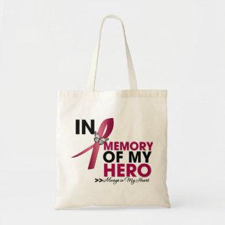 Multiple Myeloma Tribute In Memory of My Hero Tote Bag