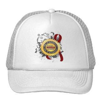 Multiple Myeloma Warrior 23 Mesh Hats