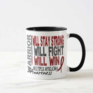 Multiple Myeloma Warrior Mug