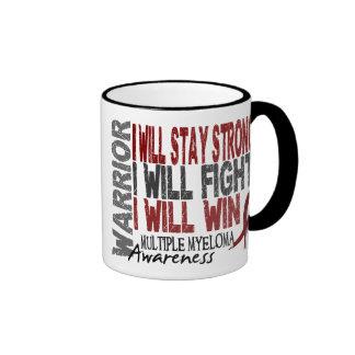 Multiple Myeloma Warrior Mugs