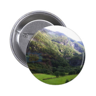 MULTIPLE PRODUCTS DESIGN- NORWAY Landscapes 6 Cm Round Badge