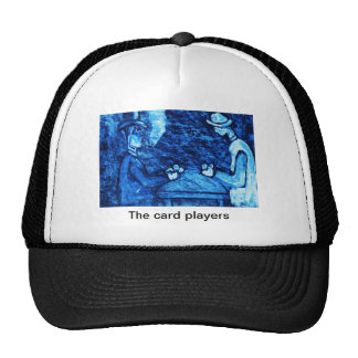 (multiple products selected The card players) Mesh Hat