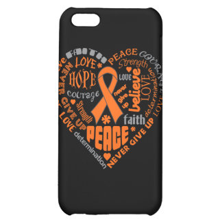 Multiple Sclerosis Awareness Heart Words iPhone 5C Case