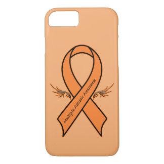 Multiple Sclerosis Awareness Ribbon iPhone 7 Case
