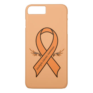 Multiple Sclerosis Awareness Ribbon iPhone 7 Plus Case