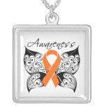 Multiple Sclerosis Awareness Tattoo Butterfly
