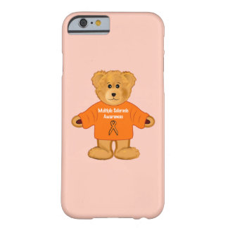 Multiple Sclerosis Awareness Teddy in Sweater Barely There iPhone 6 Case