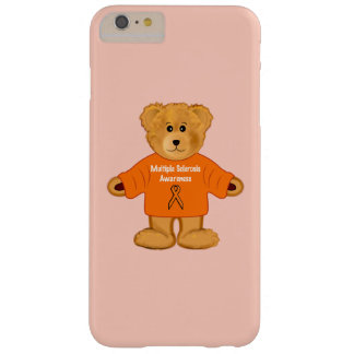 Multiple Sclerosis Awareness Teddy in Sweater Barely There iPhone 6 Plus Case