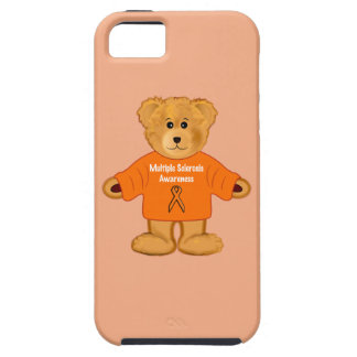 Multiple Sclerosis Awareness Teddy in Sweater iPhone 5 Case