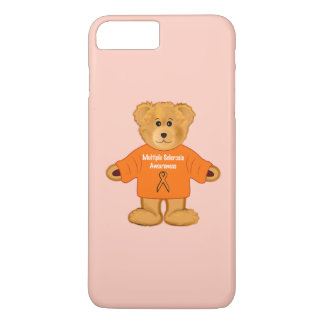 Multiple Sclerosis Awareness Teddy in Sweater iPhone 7 Plus Case