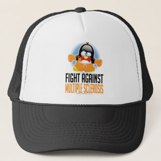 Multiple Sclerosis Boxing Penguin Cap