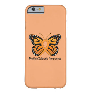Multiple Sclerosis Butterfly Awareness Ribbon Barely There iPhone 6 Case