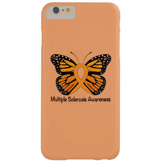 Multiple Sclerosis Butterfly Awareness Ribbon Barely There iPhone 6 Plus Case