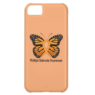 Multiple Sclerosis Butterfly Awareness Ribbon iPhone 5C Case