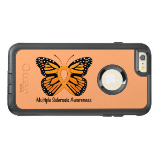 Multiple Sclerosis Butterfly Awareness Ribbon OtterBox iPhone 6/6s Plus Case