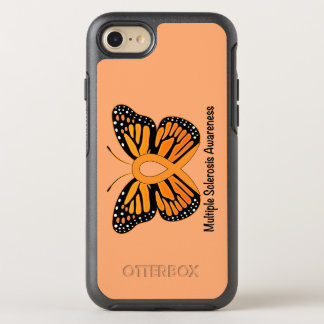 Multiple Sclerosis Butterfly Awareness Ribbon OtterBox Symmetry iPhone 7 Case