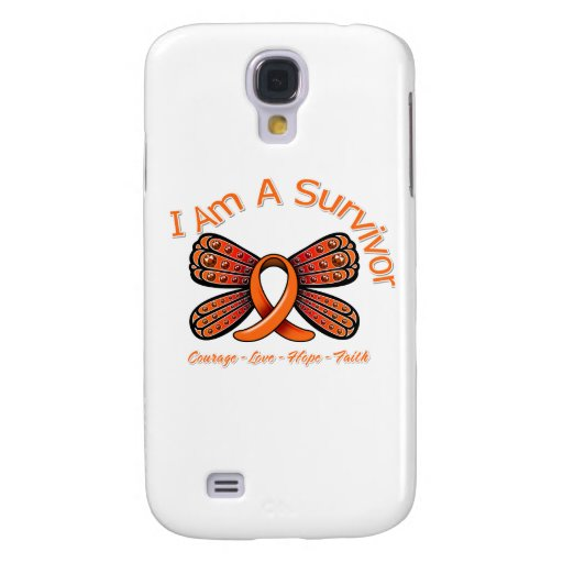 Multiple Sclerosis Butterfly I Am A Survivor Samsung Galaxy S4 Cover
