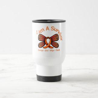 Multiple Sclerosis Butterfly I Am A Survivor Coffee Mug
