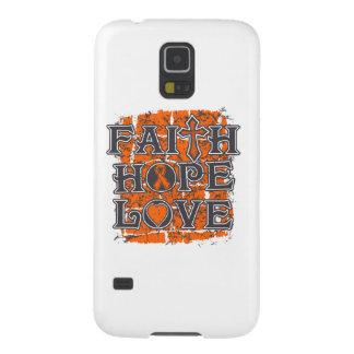 Multiple Sclerosis Faith Hope Love Case For Galaxy S5
