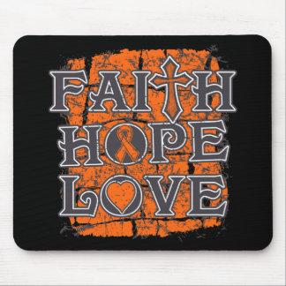 Multiple Sclerosis Faith Hope Love Mousepad