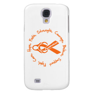 Multiple Sclerosis Fight Cure Hope Logo Samsung Galaxy S4 Covers