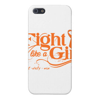 Multiple Sclerosis Fight Like A Girl Elegant iPhone 5 Cases