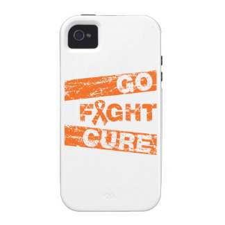 Multiple Sclerosis Go Fight Cure iPhone 4 Cases
