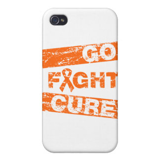 Multiple Sclerosis Go Fight Cure iPhone 4/4S Cover