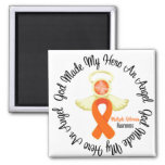 Multiple Sclerosis God Made My Hero An Angel Square Magnet