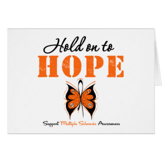 Multiple Sclerosis Hold On To Hope Cards
