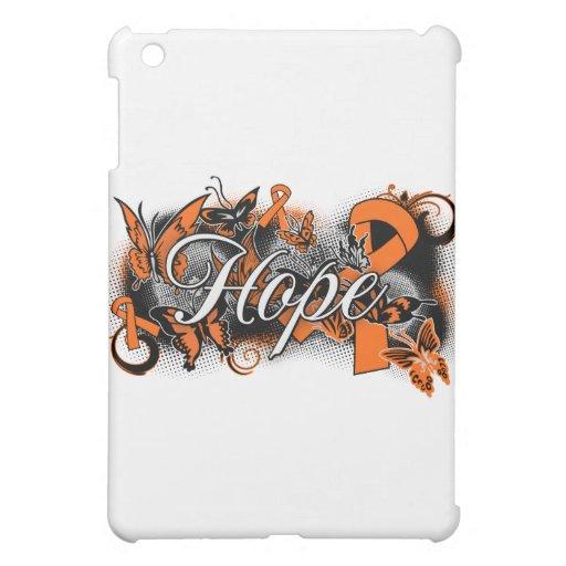 Multiple Sclerosis Hope Garden Ribbon iPad Mini Cover