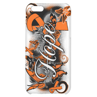 Multiple Sclerosis Hope Garden Ribbon Cover For iPhone 5C
