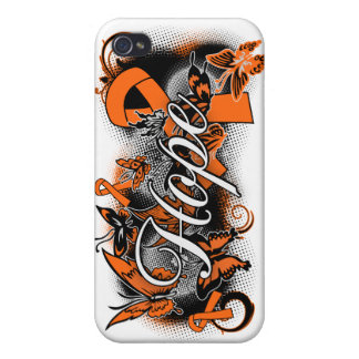 Multiple Sclerosis Hope Garden Ribbon iPhone 4/4S Cover