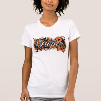 Multiple Sclerosis Hope Garden Ribbon T-shirt