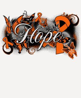 Multiple Sclerosis Hope Garden Ribbon Shirt