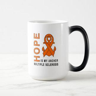Multiple Sclerosis: Hope is My Anchor! Magic Mug