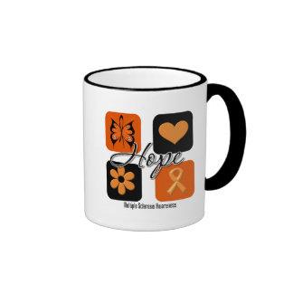 Multiple Sclerosis Hope Love Inspire Awareness Coffee Mugs