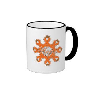 Multiple Sclerosis Hope Unity Ribbons Coffee Mugs