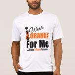 Multiple Sclerosis I Wear Orange For Me Shirts