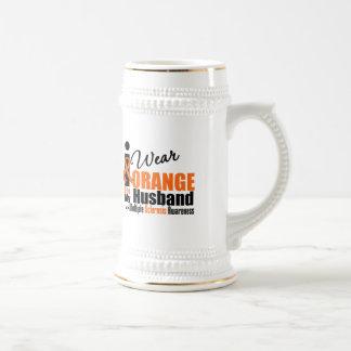 Multiple Sclerosis I Wear Orange For My Husband Mug