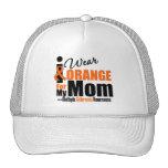 Multiple Sclerosis I Wear Orange For My Mum Trucker Hats