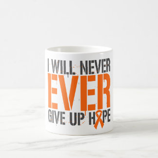 Multiple Sclerosis  I Will Never Ever Give Up Hope Coffee Mugs