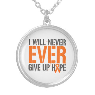 Multiple Sclerosis  I Will Never Ever Give Up Hope Custom Jewelry