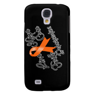 Multiple Sclerosis Love Hope Determination Samsung Galaxy S4 Case