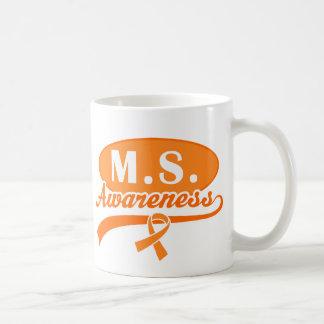 Multiple Sclerosis M.S. Ribbon Awareness Mug
