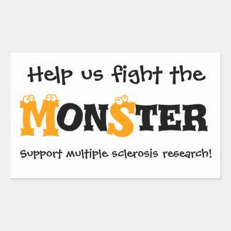 Multiple Sclerosis Monster Sticker