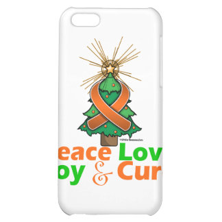 Multiple Sclerosis Peace Love Joy Cure Case For iPhone 5C
