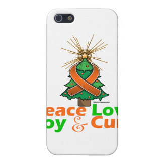 Multiple Sclerosis Peace Love Joy Cure Cases For iPhone 5
