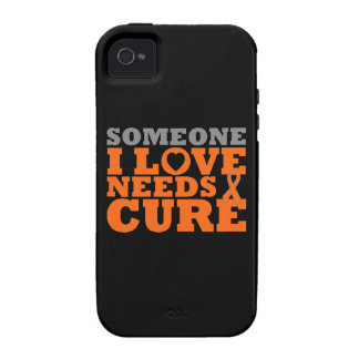 Multiple Sclerosis Someone I Love Needs A Cure Vibe iPhone 4 Cover